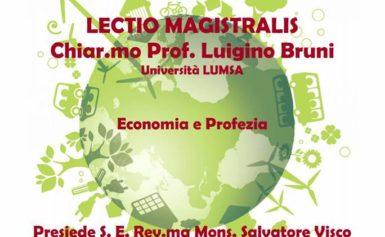 """Lectio Magistralis """"Economia e Profezia"""""""
