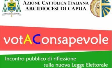 Azione Cattolica Diocesana: Vota Consapevole