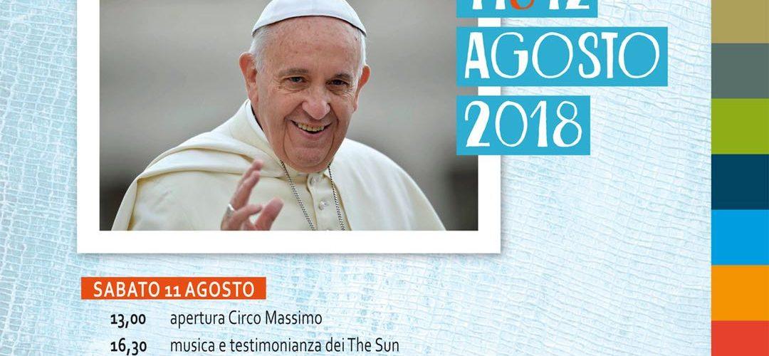 PAPA INCONTRA I GIOVANI ITALIANI: IN CAMMINO VERSO ROMA