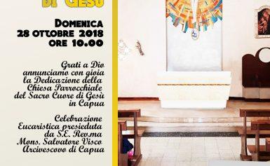 """Rito di Dedicazione della Chiesa """"Sacro Cuore"""" di Capua"""