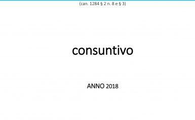 BILANCIO PARROCCHIALE 2018