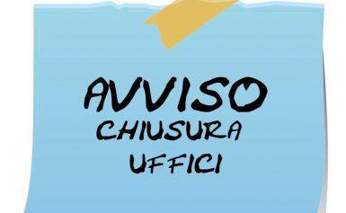 CHIUSURA DEGLI UFFICI DI CURIA