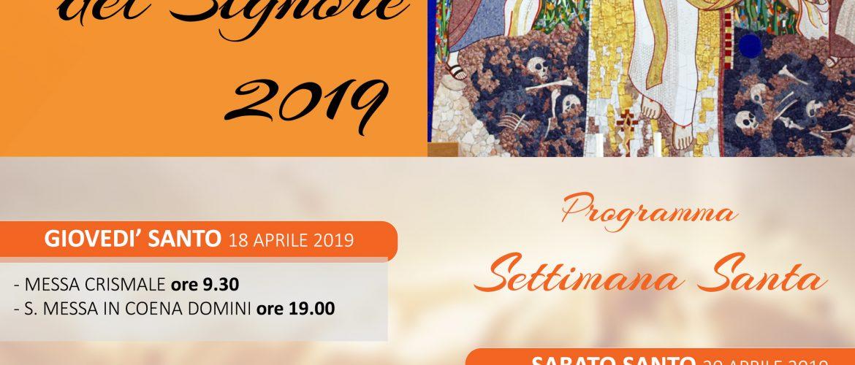 PASQUA DEL SIGNORE 2019