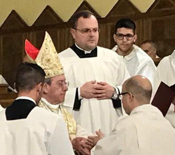 omelia all'ordinazione diaconale del seminarista nicola galante