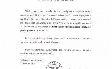 UFFICIO LITURGICO DIOCESANO: COMUNICAZIONE