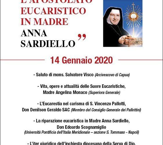 L'APOSTOLATO EUCARISTICO IN MADRE ANNA SARDIELLO