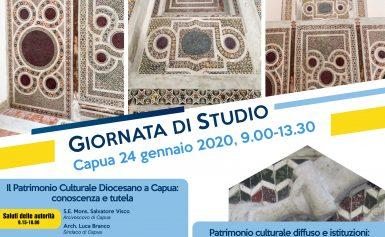 GIORNATA DI STUDIO – 24 GENNAIO 2020