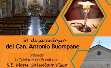 50° di sacerdozio del Can. Antonio Buompane