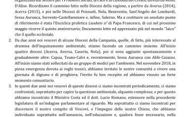 Introduzione di S.E. Mons. Di Donna all'incontro con i presbiteri e i diaconi (Teano – 14 gennaio 2020)
