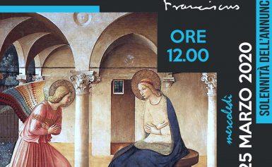 25 MARZO: Solennità dell'Annunciazione del Signore