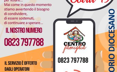 """SUPPORTO PSICOLOGICO TELEFONICO: """"PRONTO COVID-19"""""""